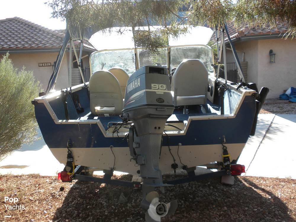 1999 Crestliner boat for sale, model of the boat is Superhawk 1600 & Image # 8 of 40