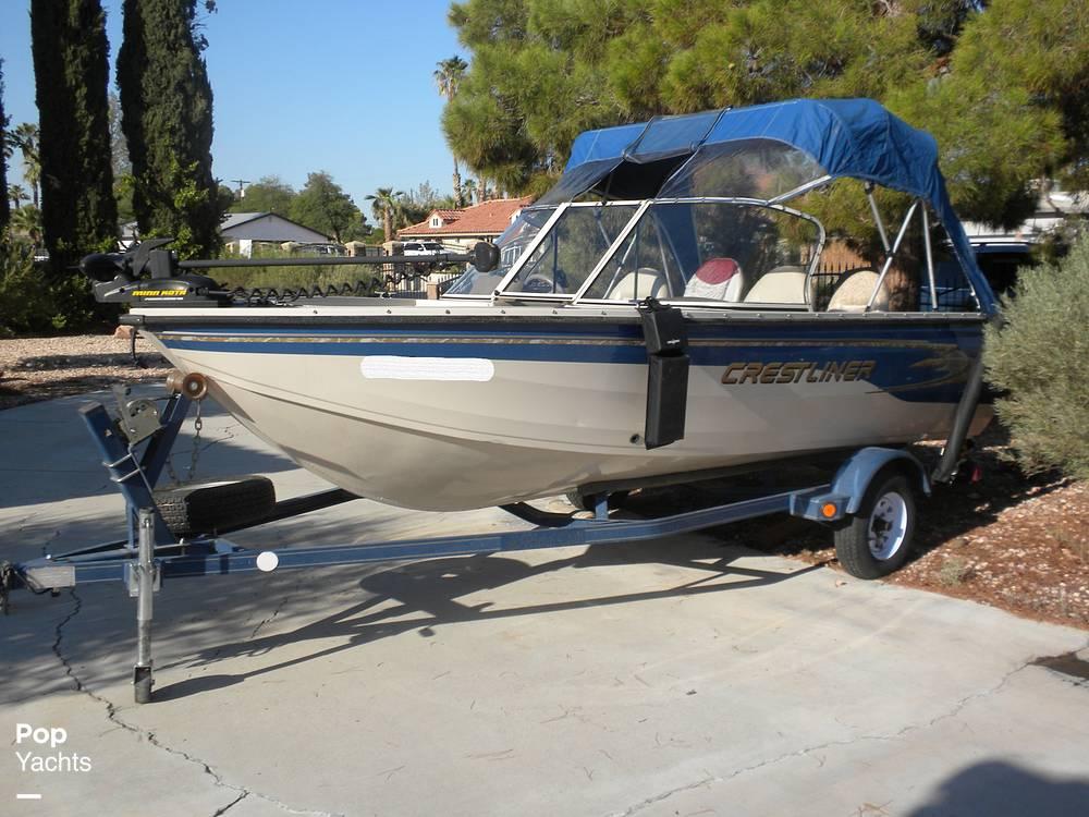 1999 Crestliner boat for sale, model of the boat is Superhawk 1600 & Image # 9 of 40