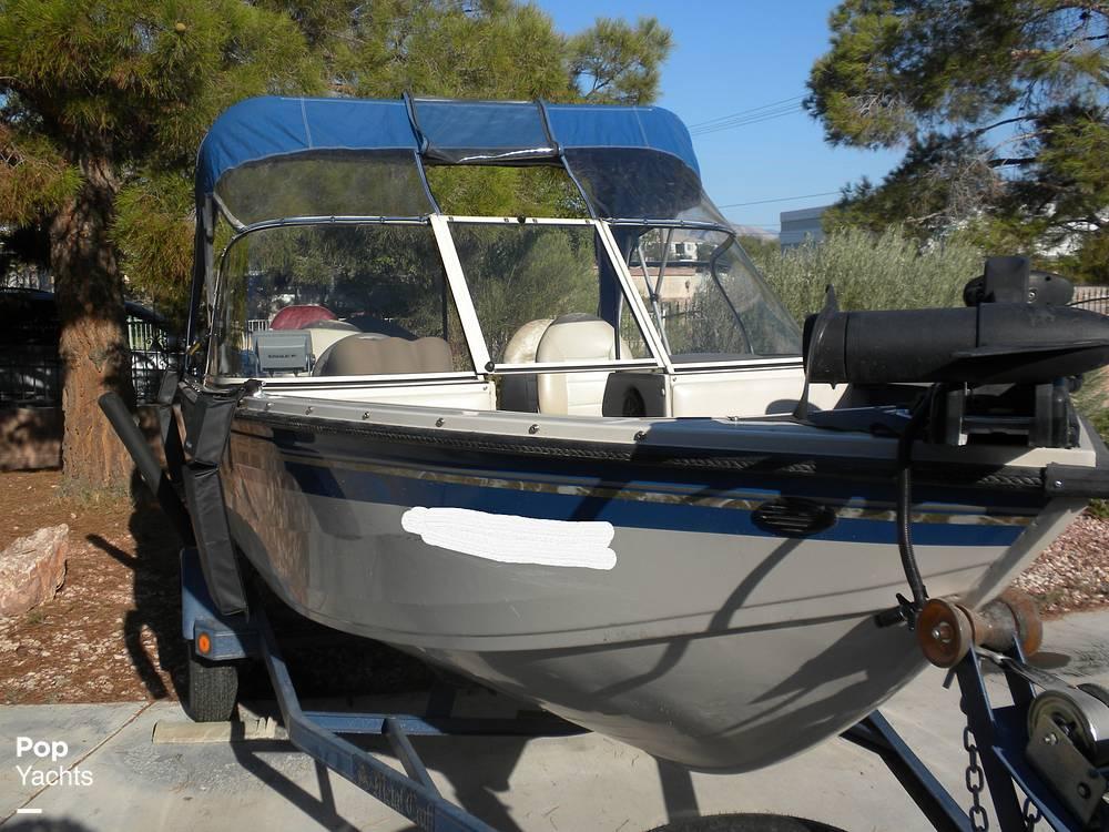 1999 Crestliner boat for sale, model of the boat is Superhawk 1600 & Image # 12 of 40