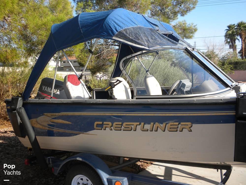 1999 Crestliner boat for sale, model of the boat is Superhawk 1600 & Image # 13 of 40