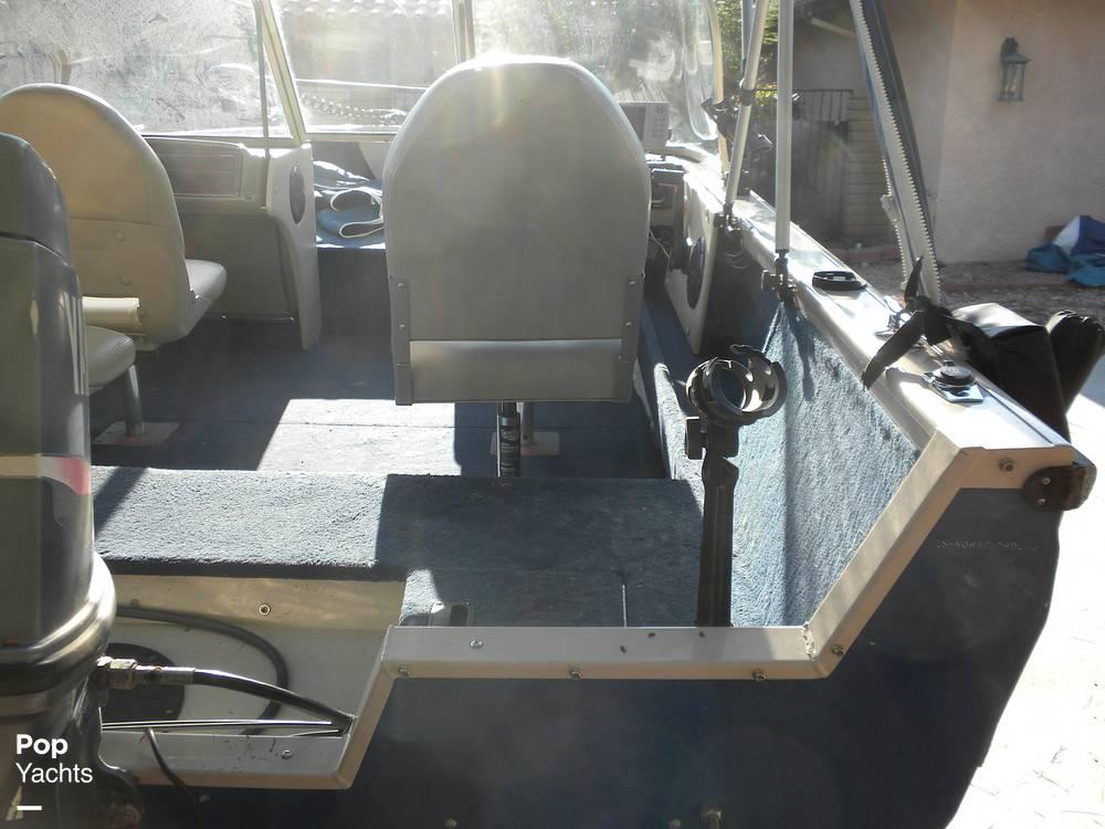 1999 Crestliner boat for sale, model of the boat is Superhawk 1600 & Image # 20 of 40