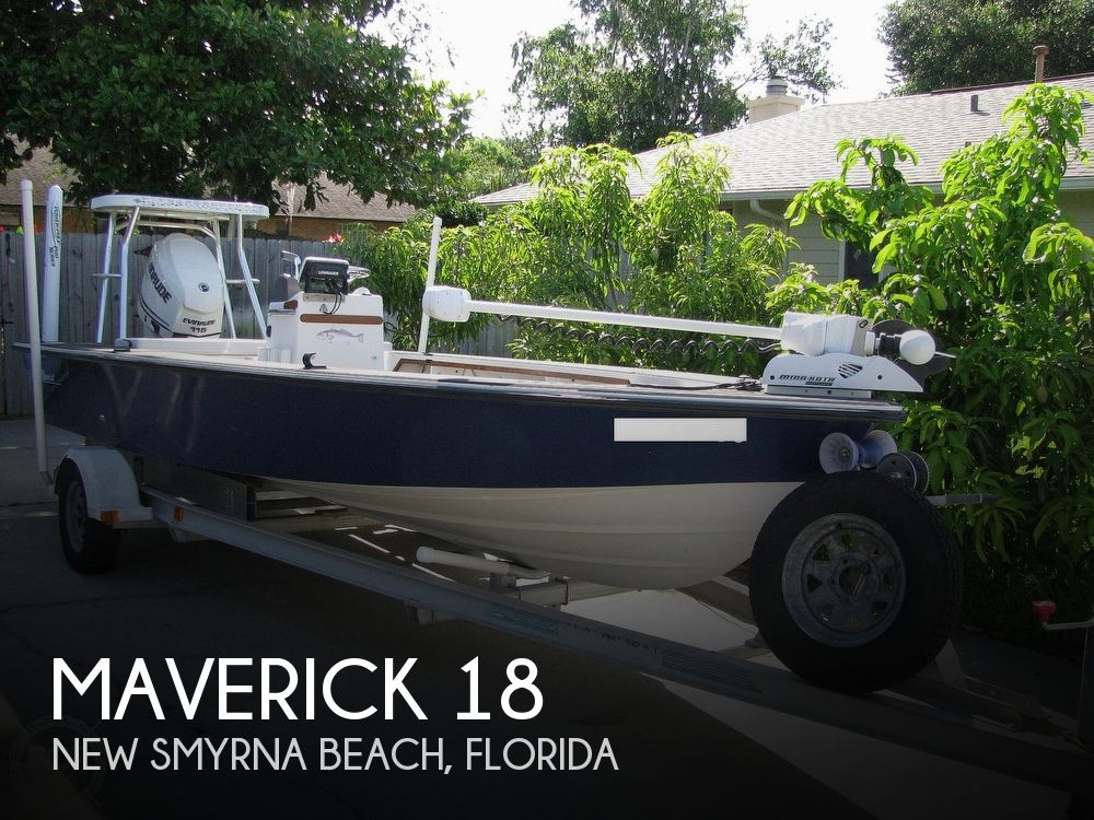 1988 Maverick boat for sale, model of the boat is Master Angler 18 & Image # 1 of 40