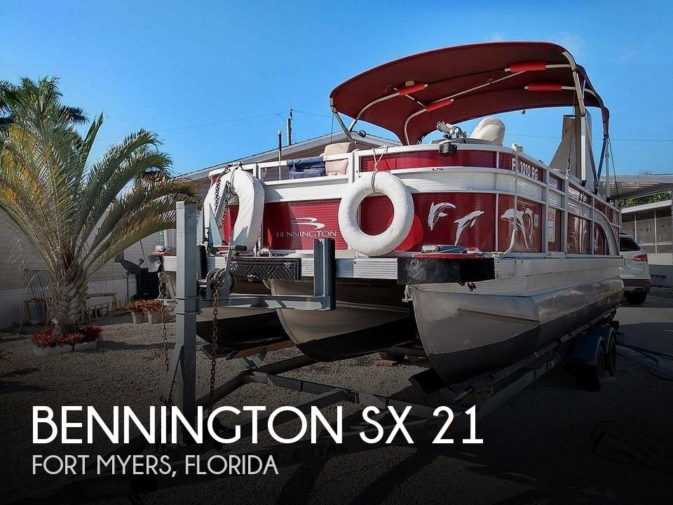 Used Bennington Boats For Sale in Florida by owner | 2016 Bennington SX 21