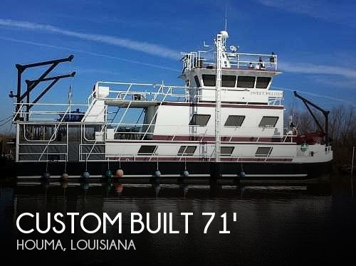 Used 24 Boats For Sale by owner | 2005 Custom Built 71ft x 24ft x 6ft