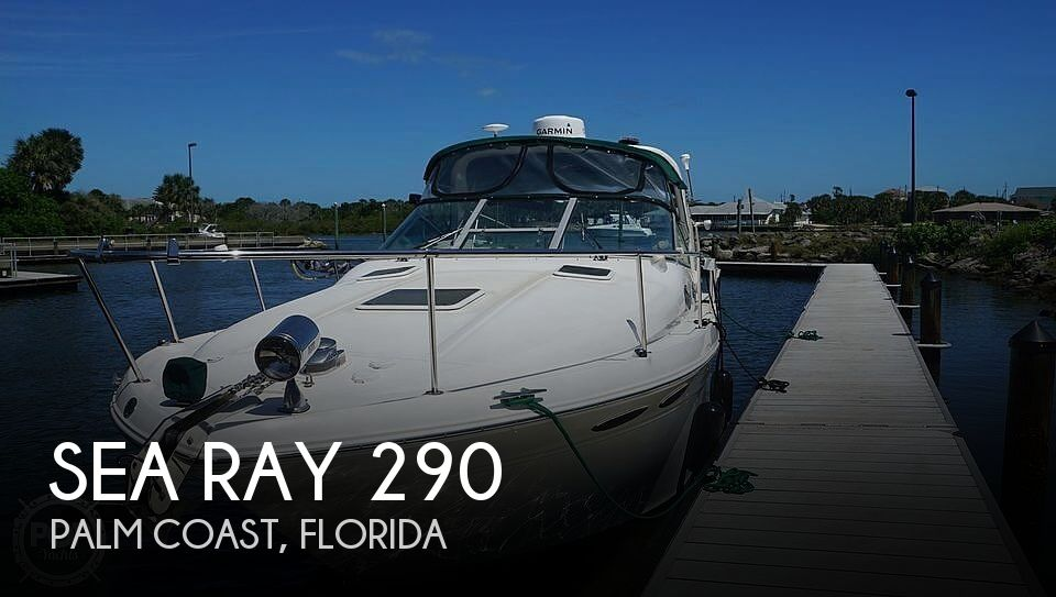1999 Sea Ray boat for sale, model of the boat is 290 Sundancer & Image # 1 of 40
