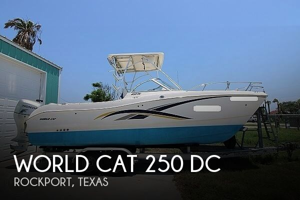 2006 World Cat boat for sale, model of the boat is 250 DC & Image # 1 of 33