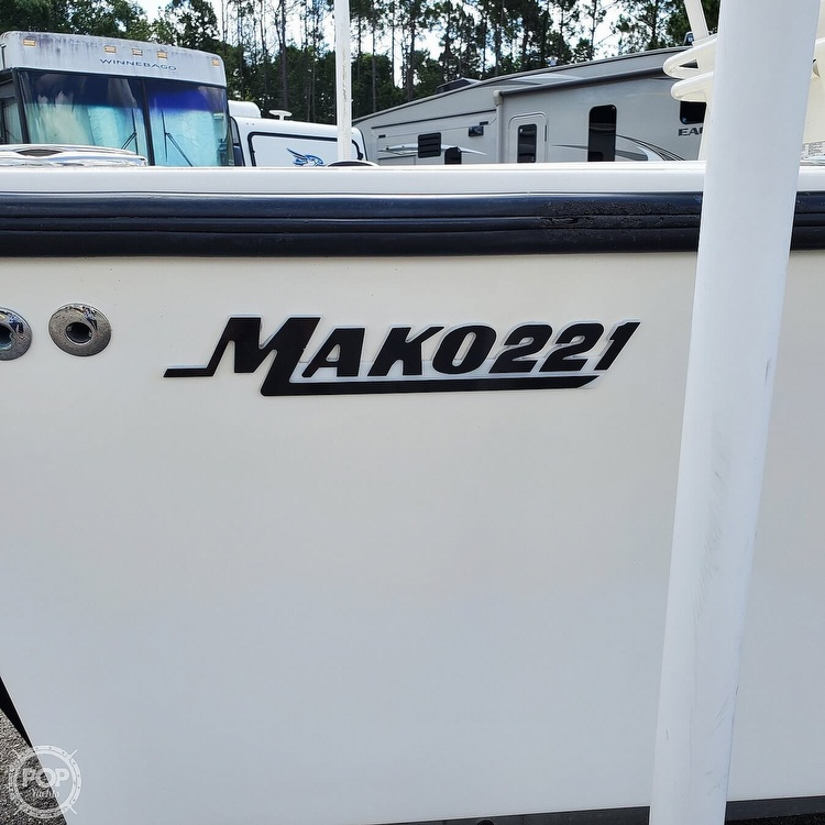 1992 Mako boat for sale, model of the boat is 221B & Image # 5 of 40