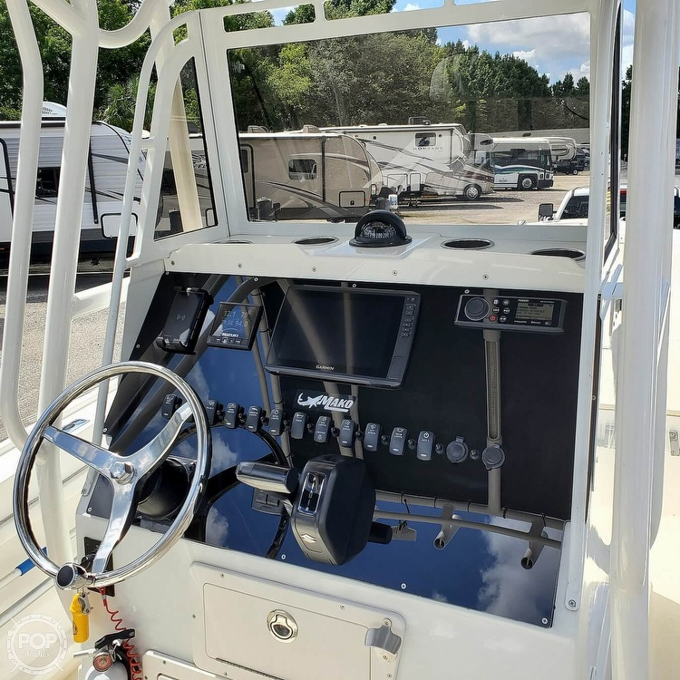 1992 Mako boat for sale, model of the boat is 221B & Image # 7 of 40