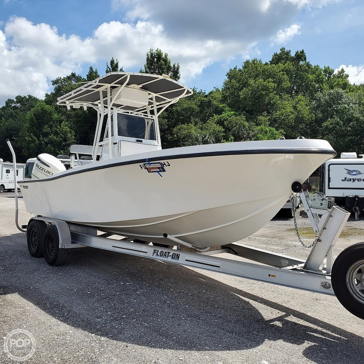 1992 Mako boat for sale, model of the boat is 221B & Image # 2 of 40