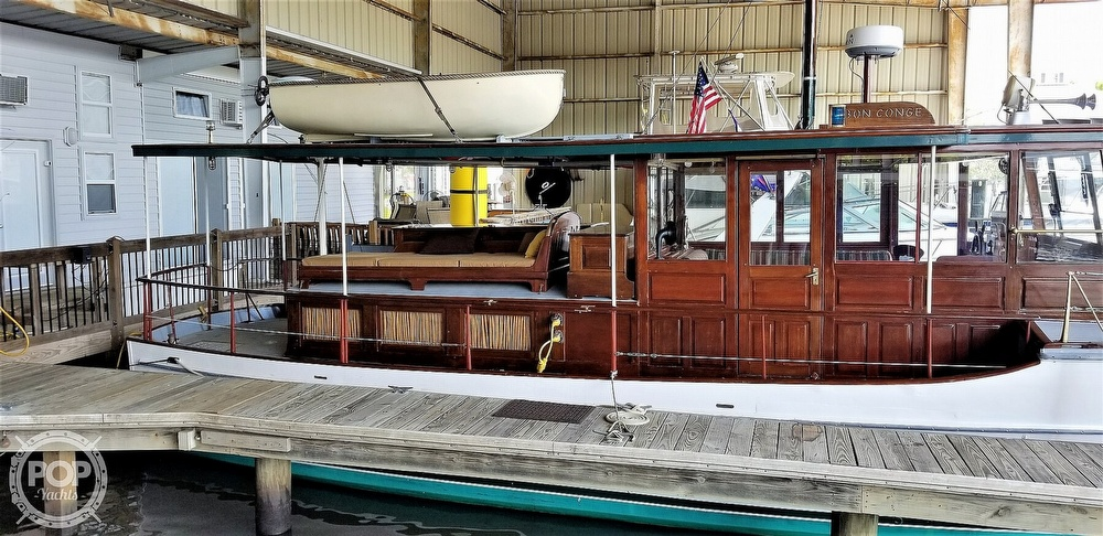 1928 ELCO (electric Launch Company) boat for sale, model of the boat is 42' ELCO Flat Top Motor Yacht & Image # 3 of 40
