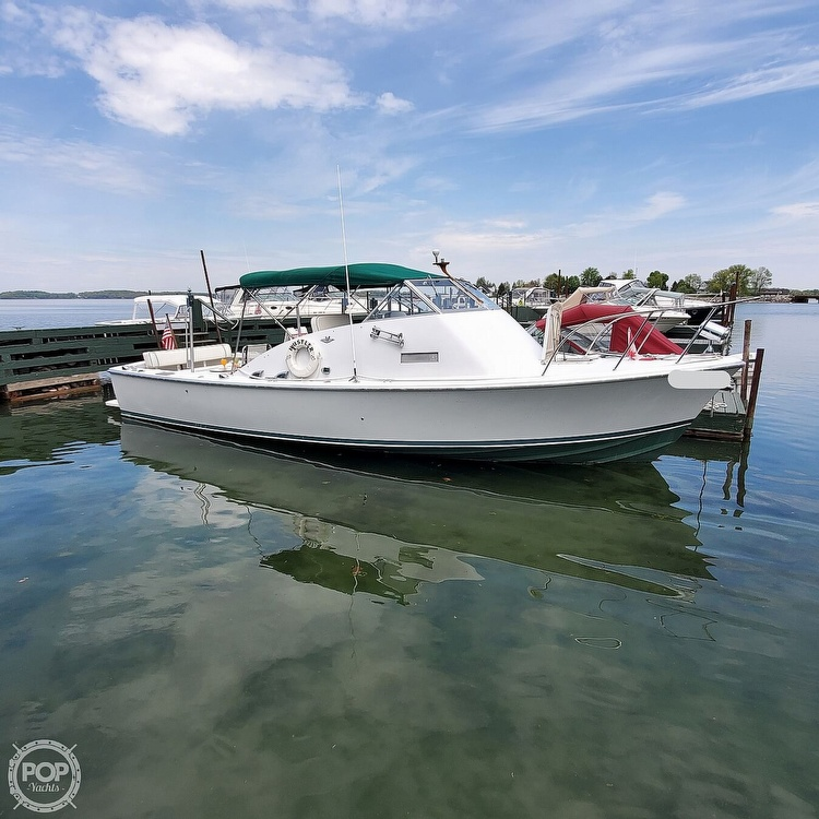 1966 Bertram boat for sale, model of the boat is Bahia-Mar 31 & Image # 37 of 40