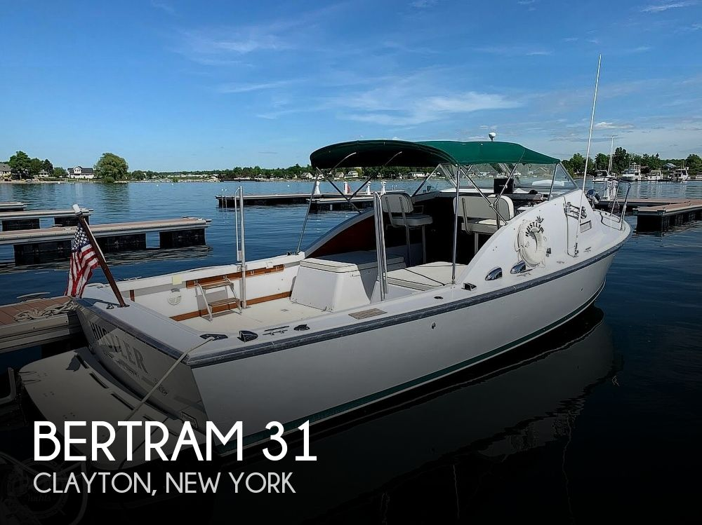 1966 Bertram boat for sale, model of the boat is Bahia-Mar 31 & Image # 1 of 40