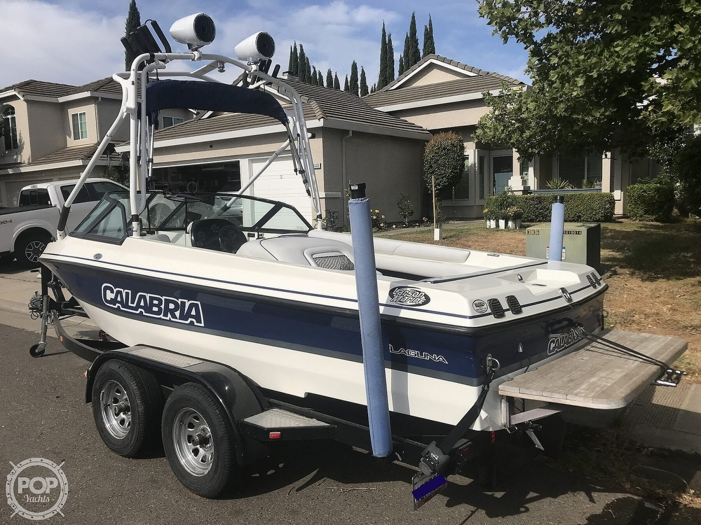 2003 Calabria boat for sale, model of the boat is Laguna & Image # 4 of 40