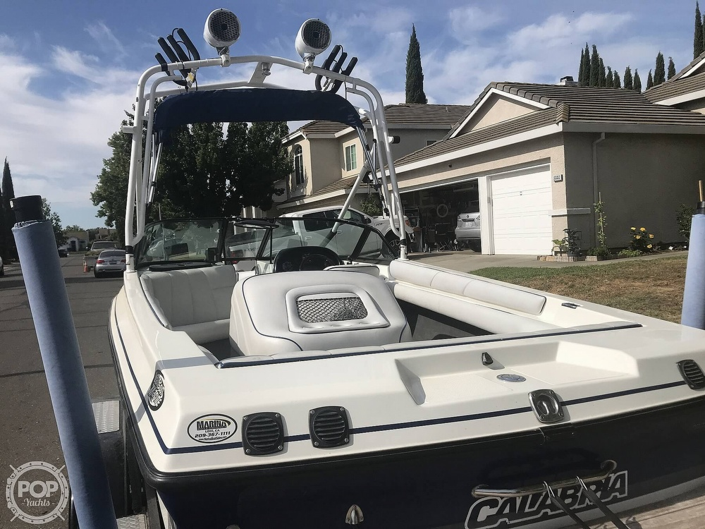 2003 Calabria boat for sale, model of the boat is Laguna & Image # 20 of 40