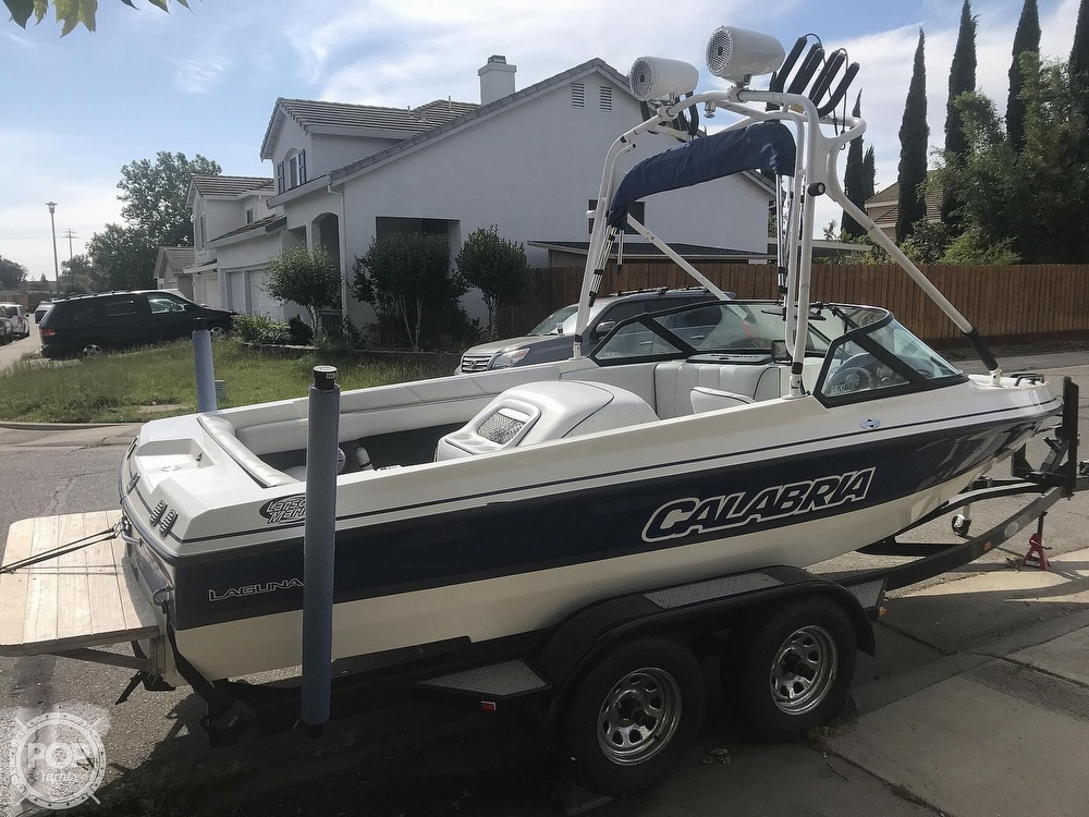 2003 Calabria boat for sale, model of the boat is Laguna & Image # 3 of 40