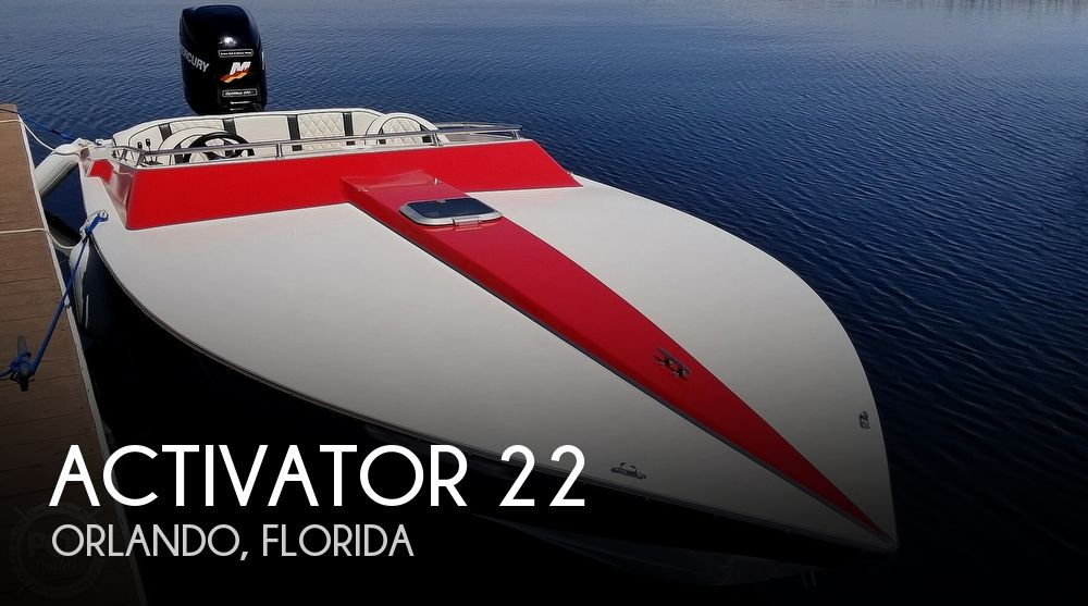 1990 Activator boat for sale, model of the boat is 22 & Image # 1 of 40