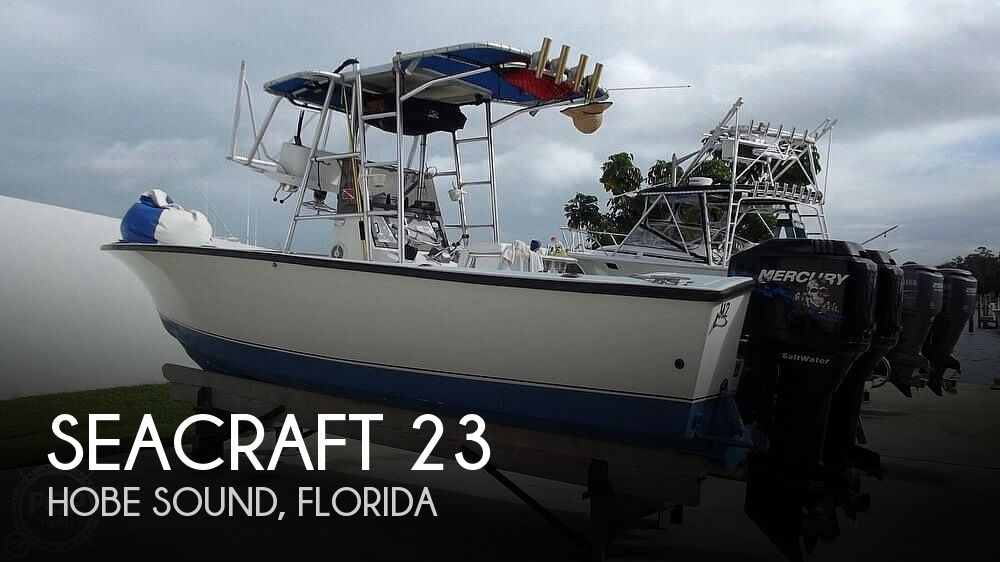 Used SEACRAFT Boats For Sale by owner   1988 SeaCraft 23