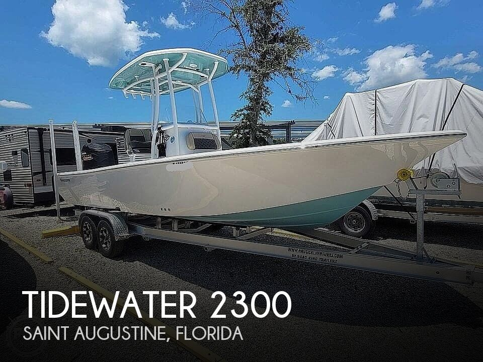 2021 Tidewater boat for sale, model of the boat is 2300 Carolina Bay & Image # 1 of 40