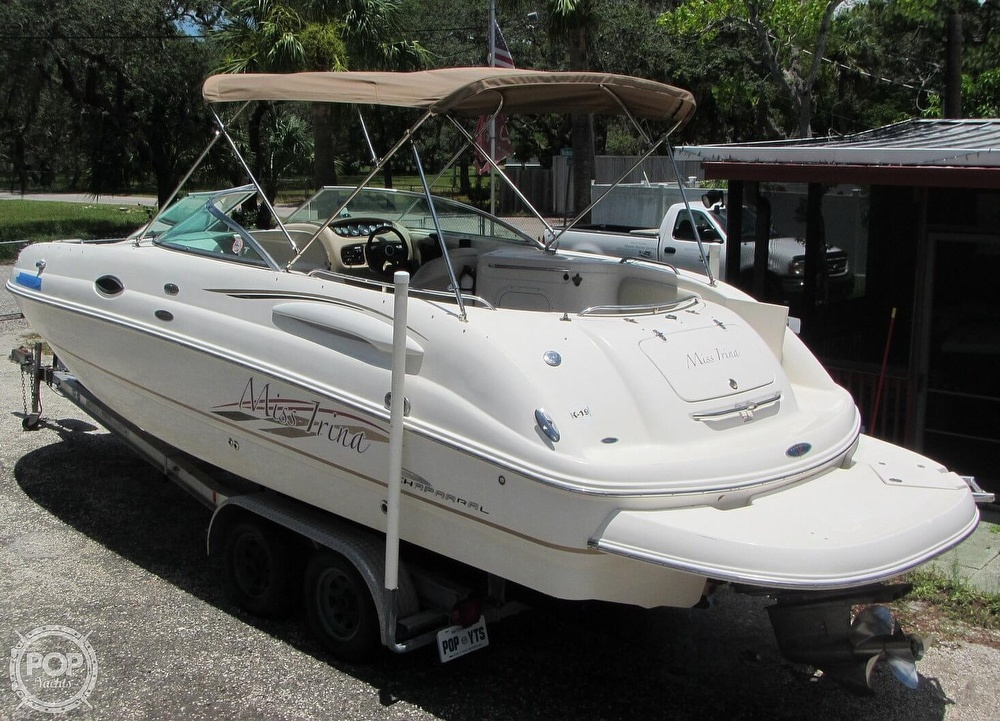 2004 Chaparral boat for sale, model of the boat is 254 Sunesta & Image # 5 of 40