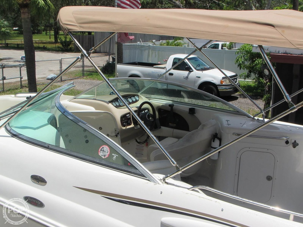 2004 Chaparral boat for sale, model of the boat is 254 Sunesta & Image # 17 of 40