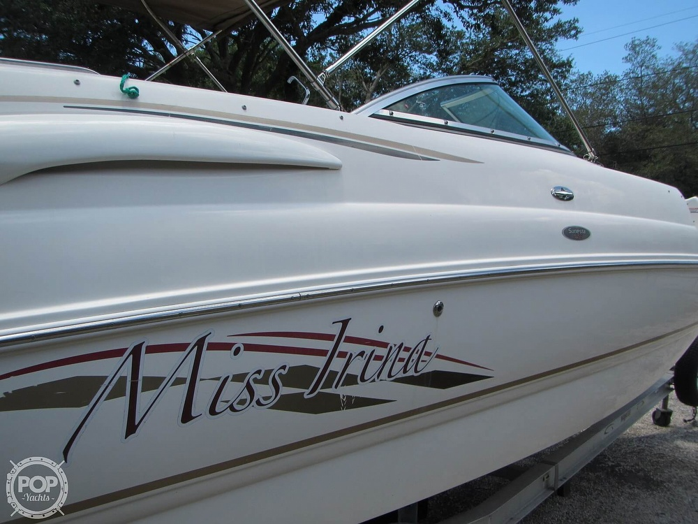 2004 Chaparral boat for sale, model of the boat is 254 Sunesta & Image # 39 of 40