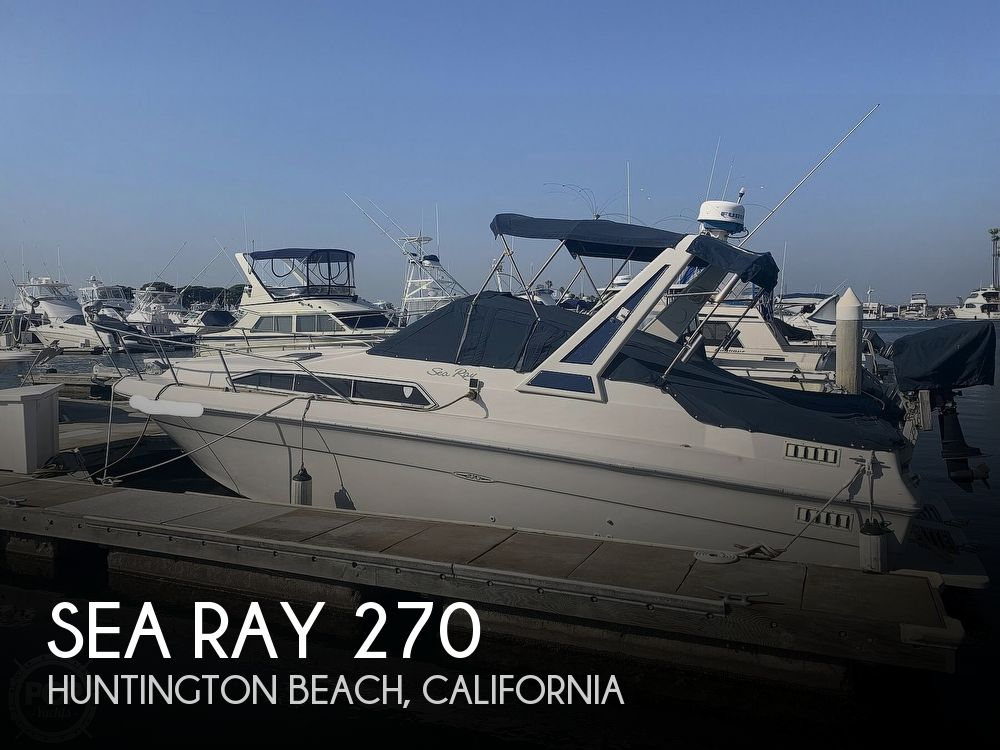 1988 Sea Ray boat for sale, model of the boat is 270 Sundancer & Image # 1 of 40