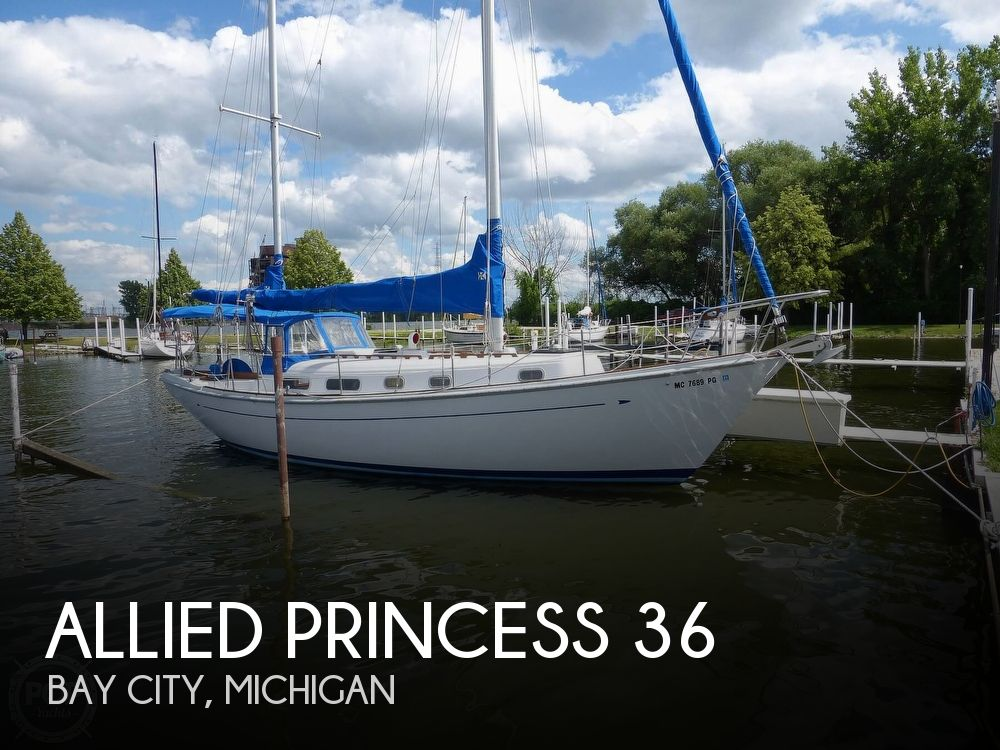 Used Allied Boats For Sale in Flint, Michigan by owner | 1977 Allied Princess 36
