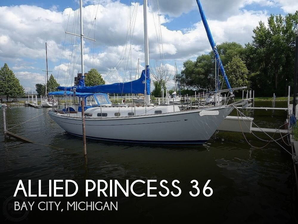 1977 Allied boat for sale, model of the boat is Princess 36 & Image # 1 of 40