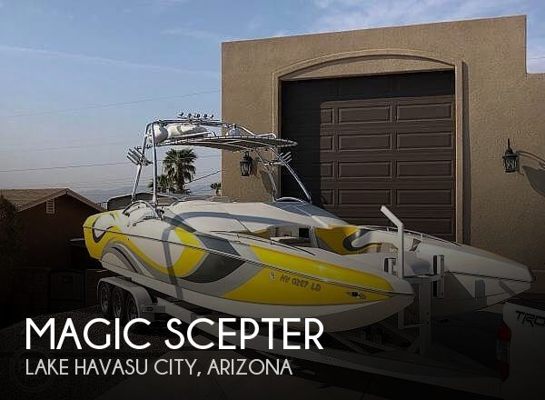 Used Boats For Sale in Arizona by owner | 2008 28 foot Magic Scepter