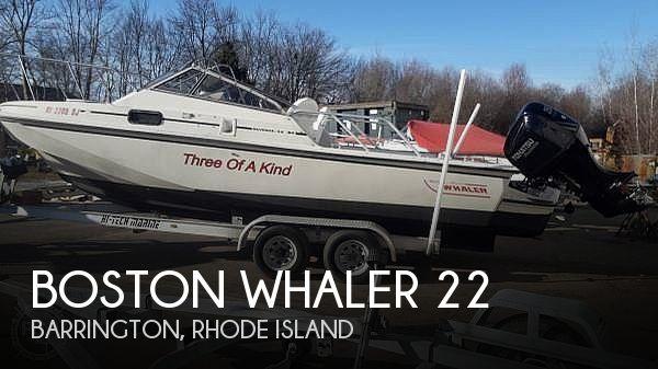1987 Boston Whaler 22 Revenge WT - image 1