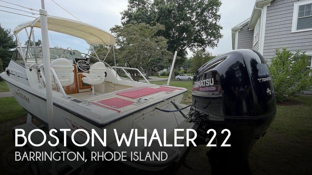 1987 BOSTON WHALER 22 REVENGE WT for sale