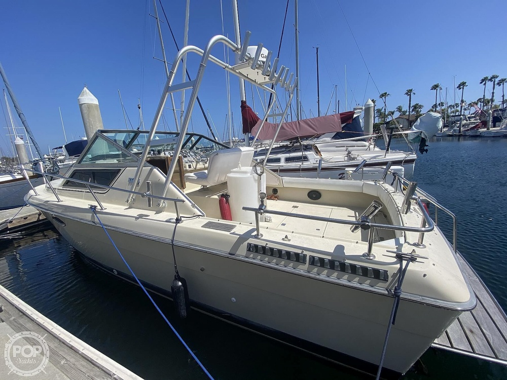 1984 Tiara Yachts boat for sale, model of the boat is 2700 Continental Fish & Cruise & Image # 6 of 40