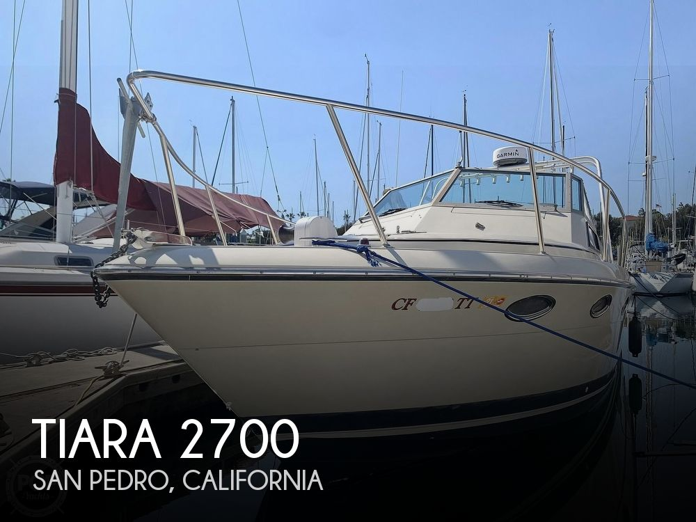 1984 Tiara Yachts boat for sale, model of the boat is 2700 Continental Fish & Cruise & Image # 1 of 40
