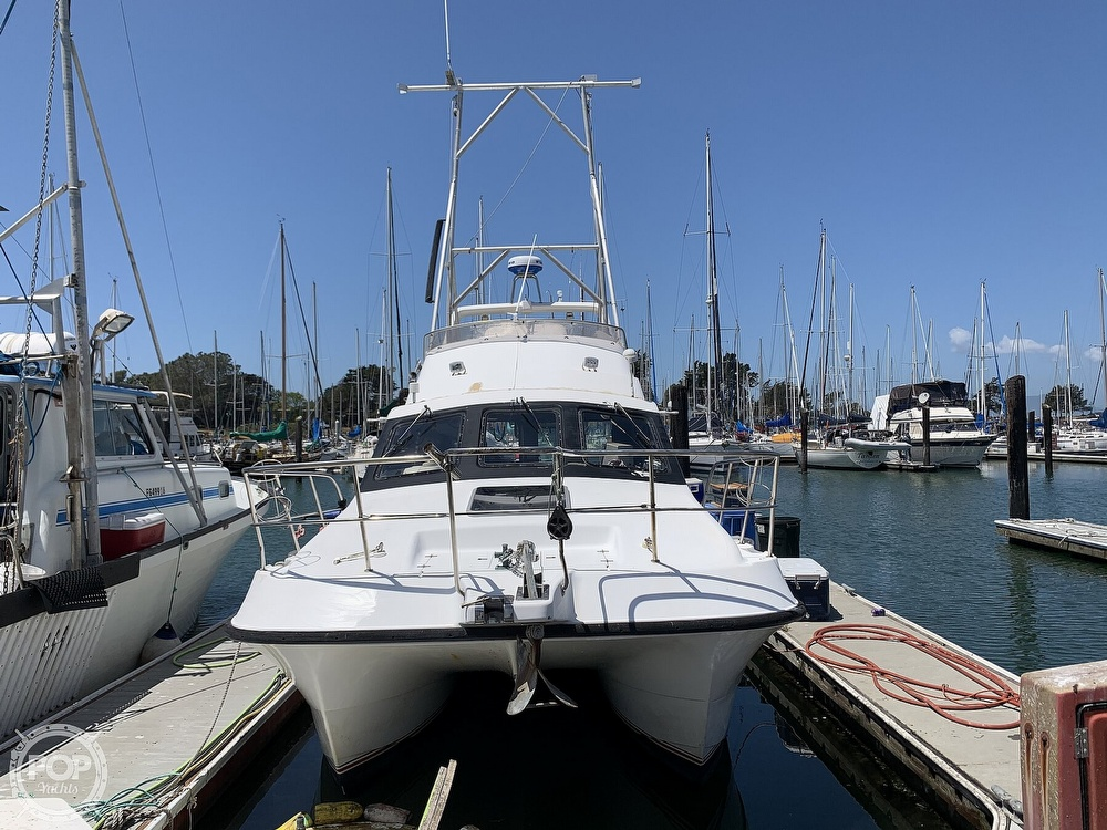 1996 Noosa boat for sale, model of the boat is Performance Cat 38 & Image # 2 of 40