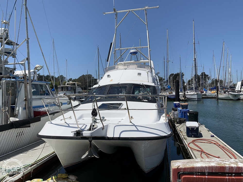 1996 Noosa boat for sale, model of the boat is Performance Cat 38 & Image # 3 of 40