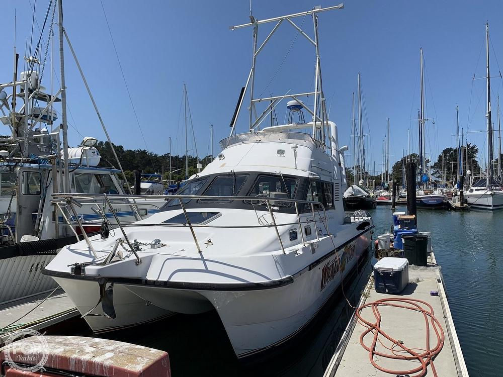 1996 Noosa boat for sale, model of the boat is Performance Cat 38 & Image # 4 of 40