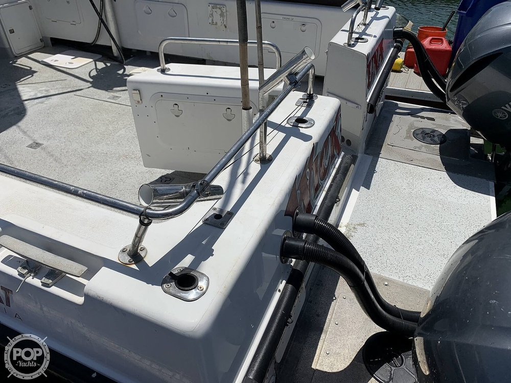 1996 Noosa boat for sale, model of the boat is Performance Cat 38 & Image # 13 of 40