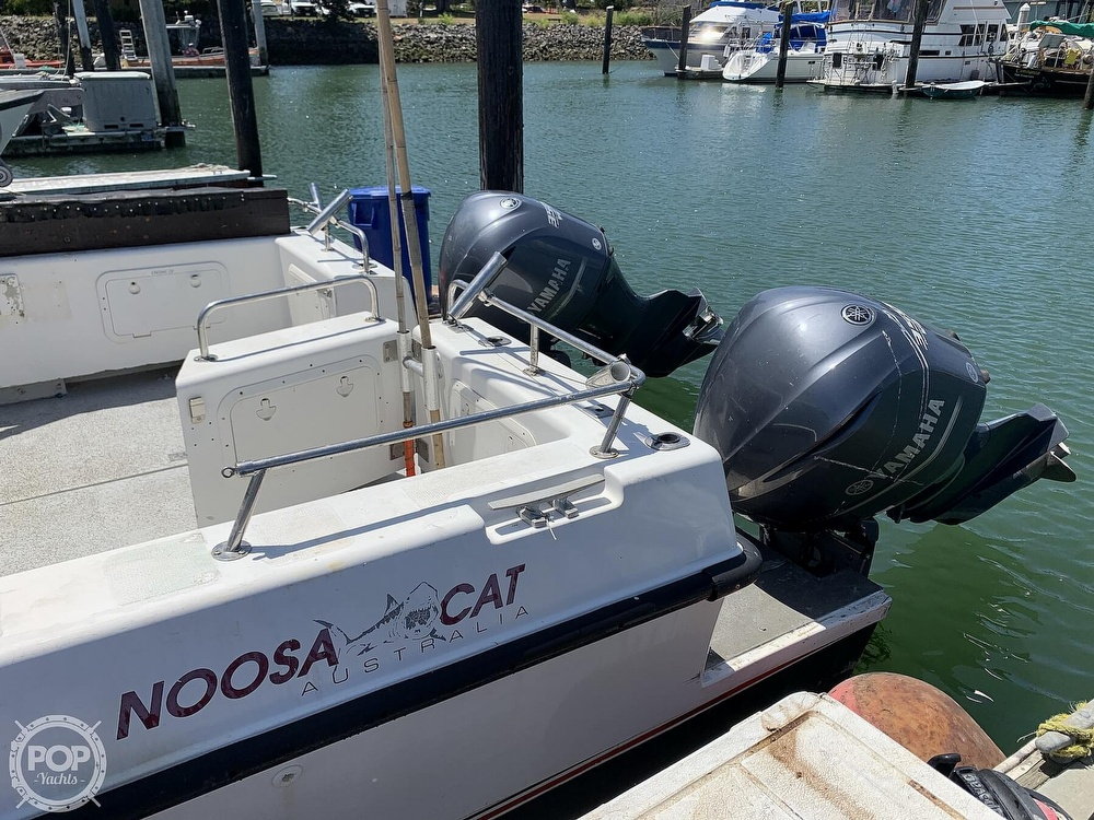 1996 Noosa boat for sale, model of the boat is Performance Cat 38 & Image # 16 of 40
