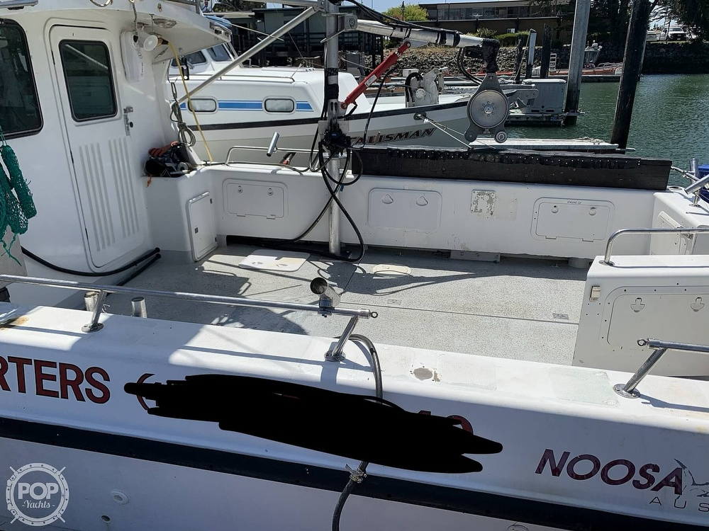 1996 Noosa boat for sale, model of the boat is Performance Cat 38 & Image # 17 of 40