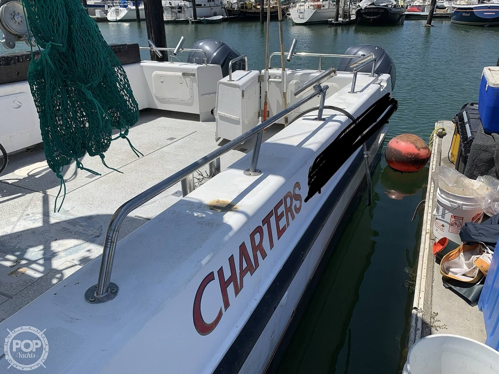 1996 Noosa boat for sale, model of the boat is Performance Cat 38 & Image # 21 of 40