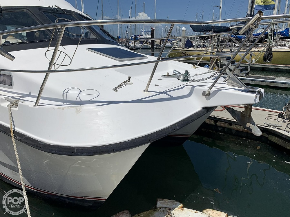 1996 Noosa boat for sale, model of the boat is Performance Cat 38 & Image # 29 of 40