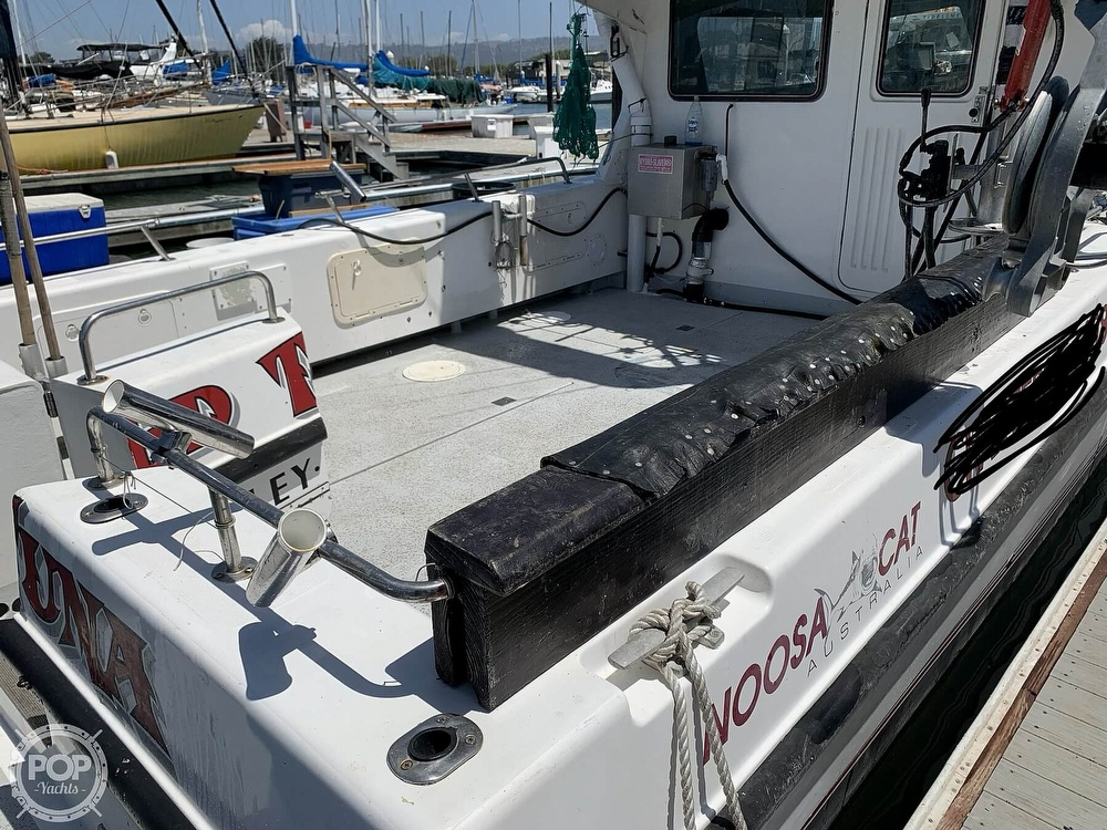 1996 Noosa boat for sale, model of the boat is Performance Cat 38 & Image # 34 of 40
