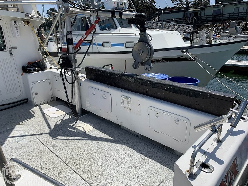 1996 Noosa boat for sale, model of the boat is Performance Cat 38 & Image # 40 of 40