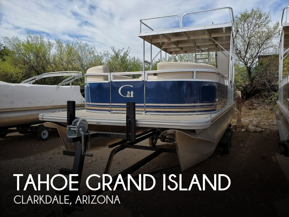 Used Tahoe Boats For Sale by owner   2021 25 foot Tahoe Grand Island