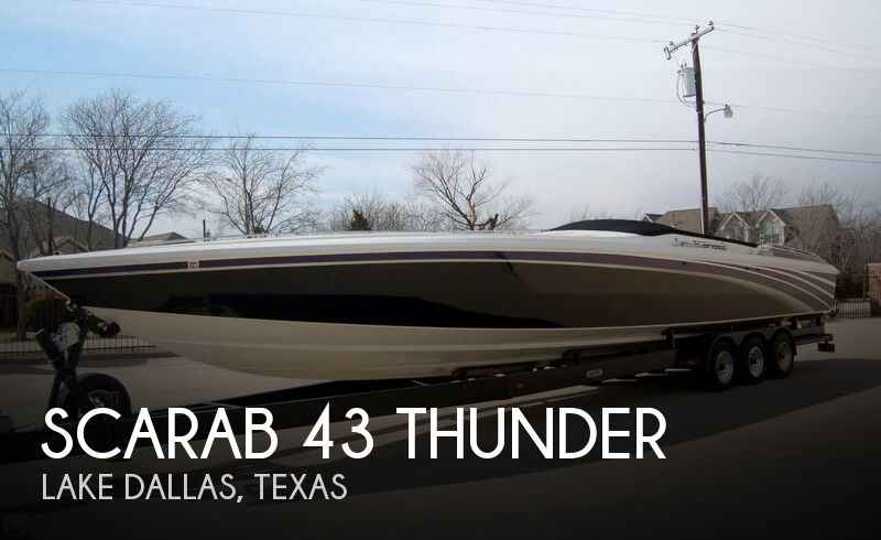 1995 SCARAB 43 THUNDER for sale