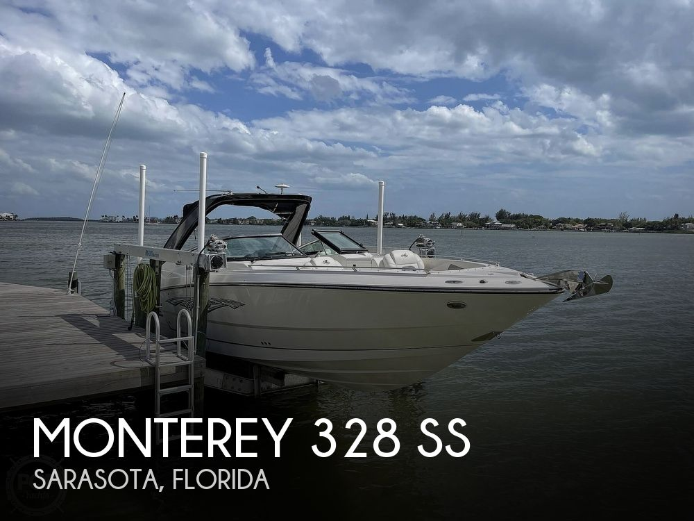 2013 Monterey boat for sale, model of the boat is 328 SS & Image # 1 of 40