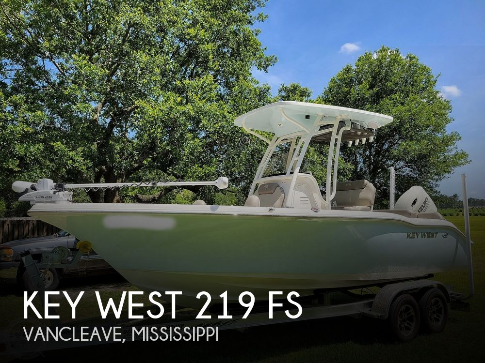 2021 Key West boat for sale, model of the boat is 219 FS & Image # 1 of 40