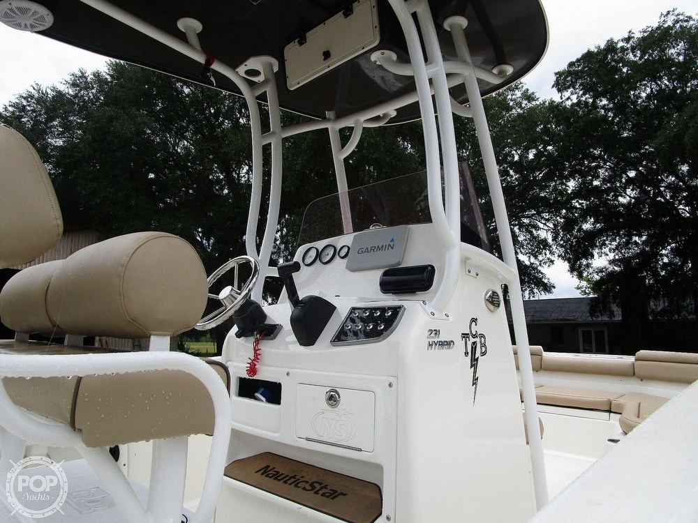 2020 Nautic Star boat for sale, model of the boat is 231 Hybrid & Image # 32 of 40