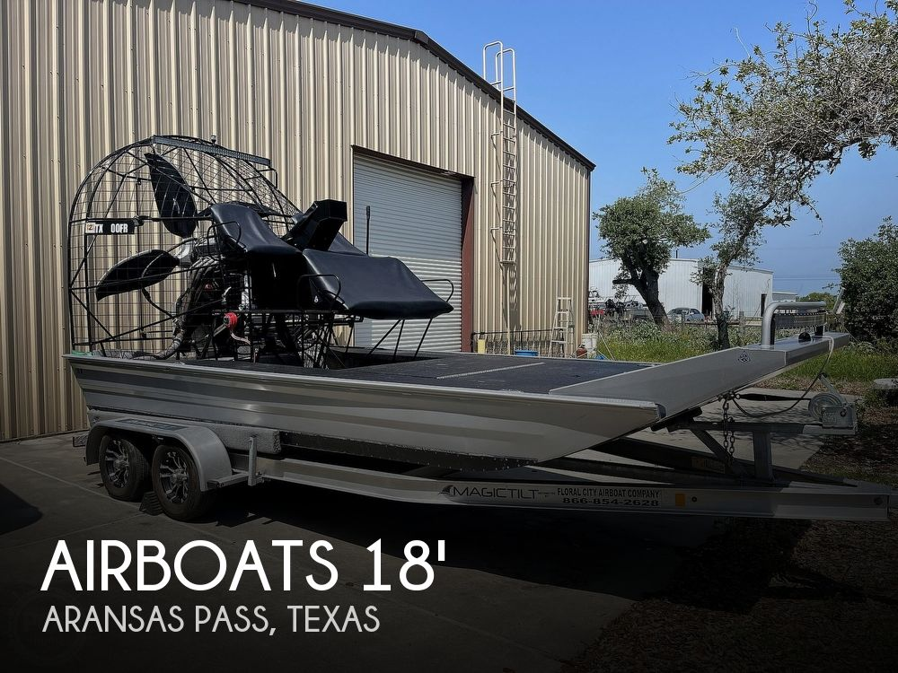 Used Power boats For Sale in Corpus Christi, Texas by owner   2020 18 foot Airboats Unlimited Floral City