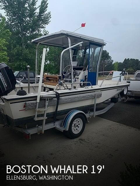 Used Boston Whaler Boats For Sale in Washington by owner | 1992 Boston Whaler 19' Outrage